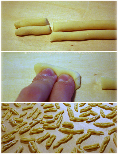 Collage cavatelli