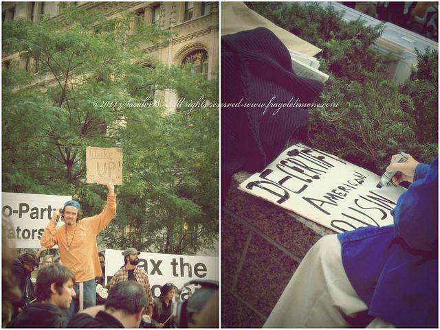 collage protesta