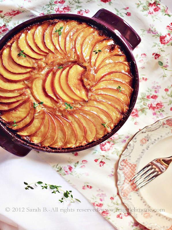 torta pesche e timo limone cotta 003editedtesto