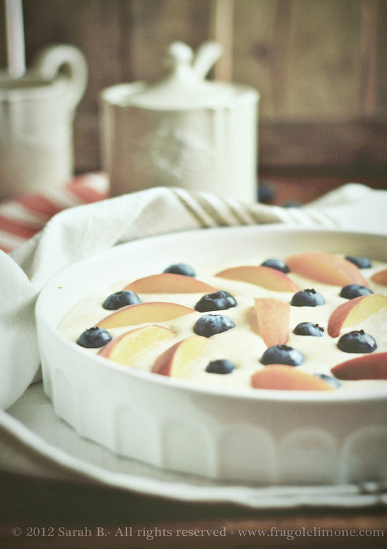 torta mirtlli e pesche (2)