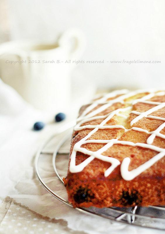 Torta ai mirtilli con sciroppo al limone (7) MESSA