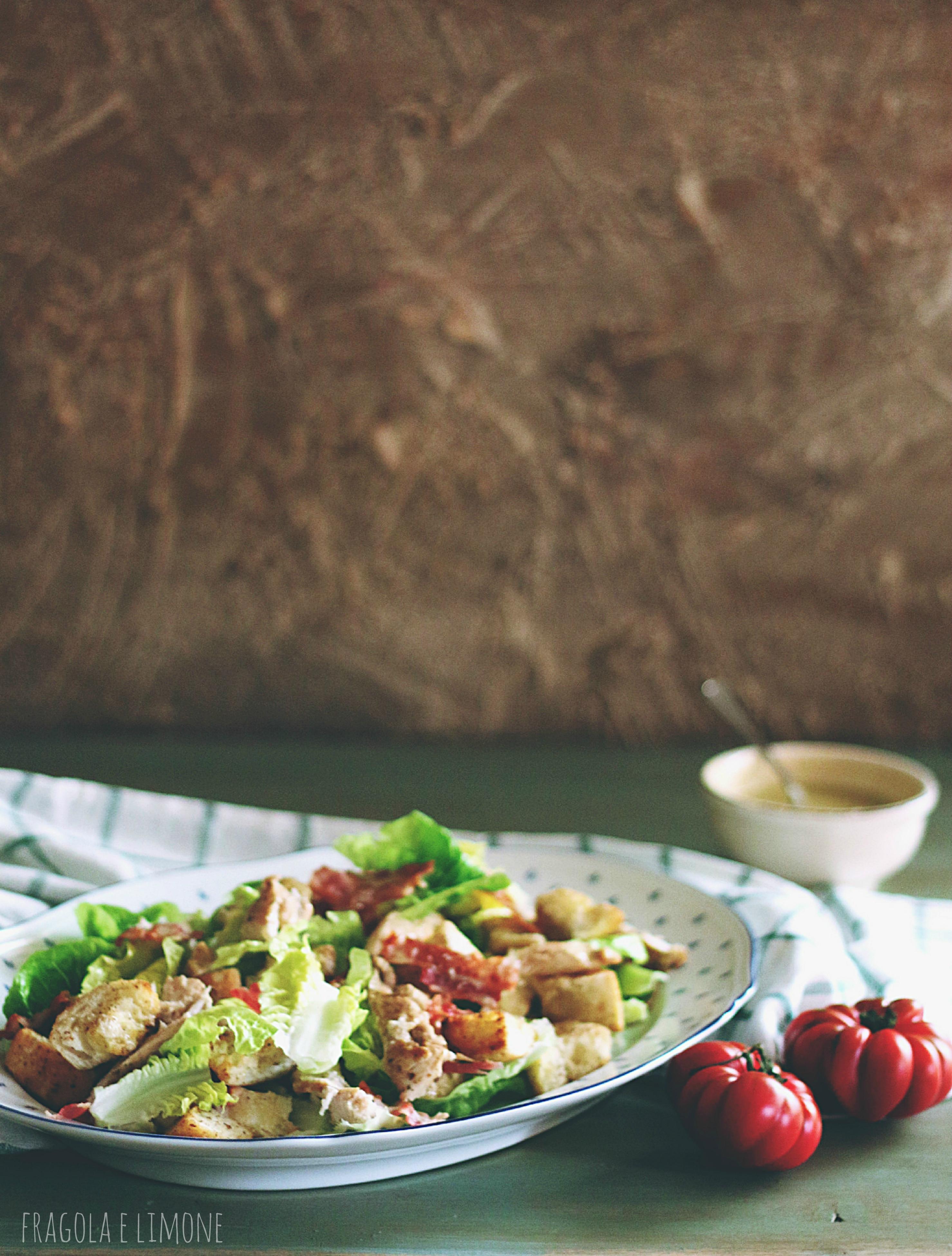 caesar salad impiattata