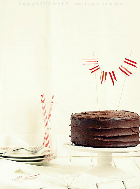 Il compleanno del marito...(torta 5 strati)