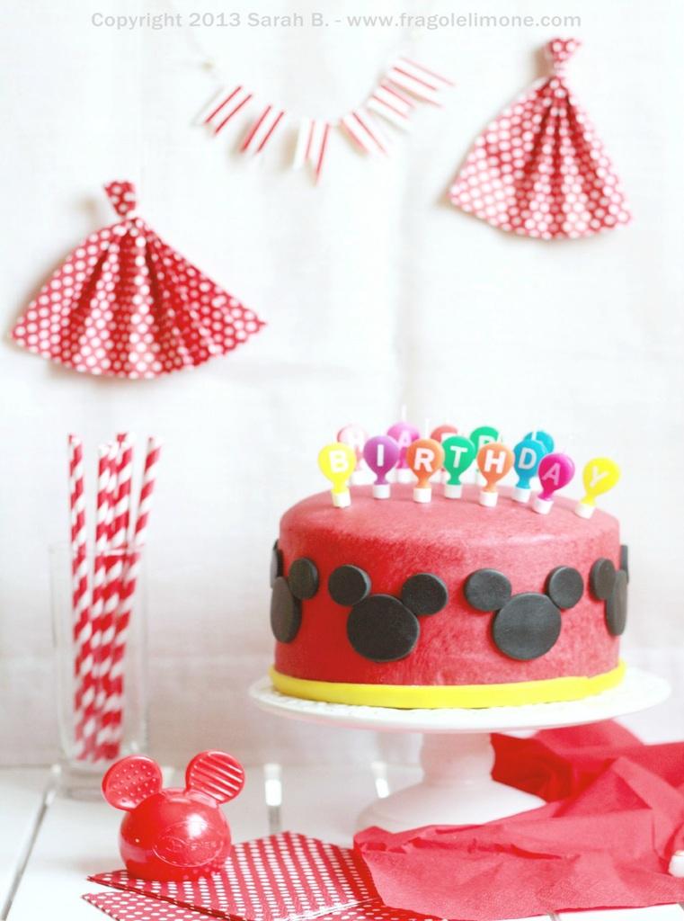 La torta del 1° nanetto-compleanno