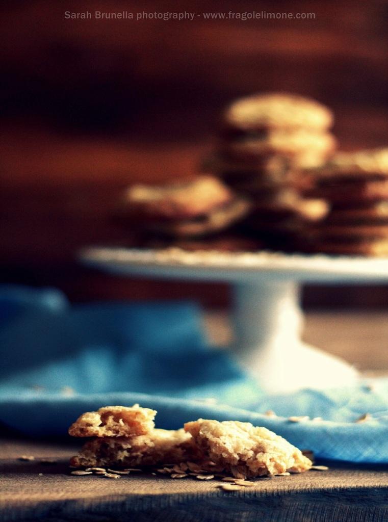 Fioccano biscotti.