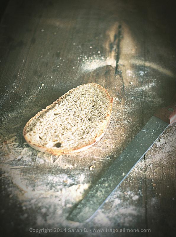 pane con lievito molino rossetto fetta