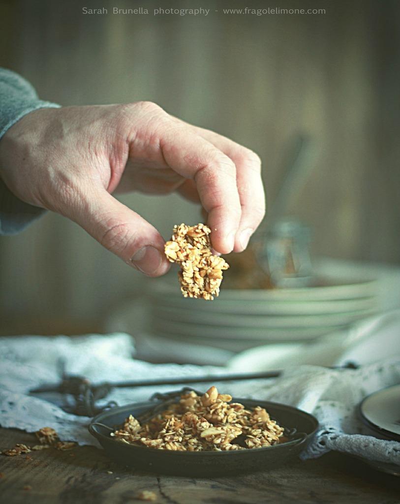 La granola che ricorda le fiere di paese...