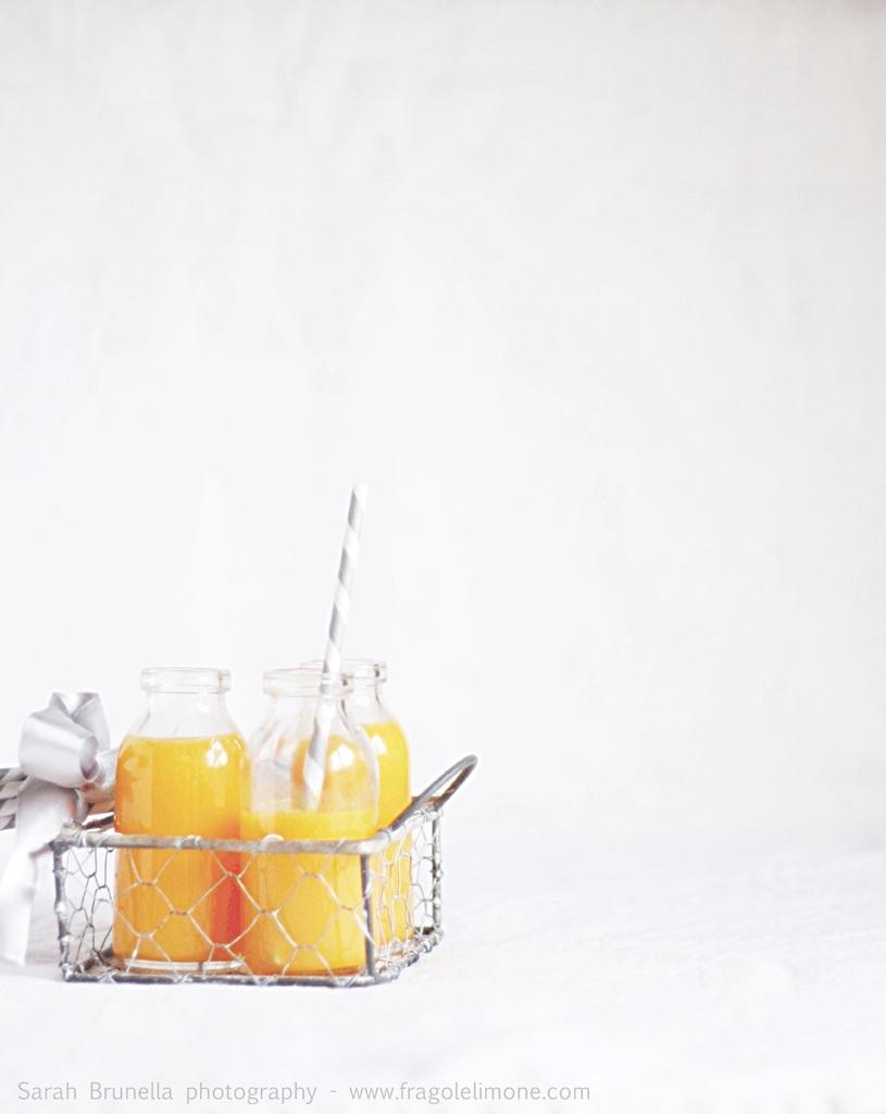 Un succo buono, sano e senza zucchero