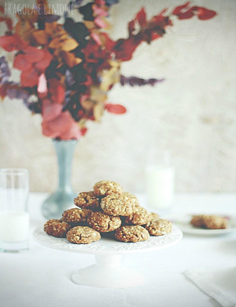 biscotti macadamia e sesamo pronti