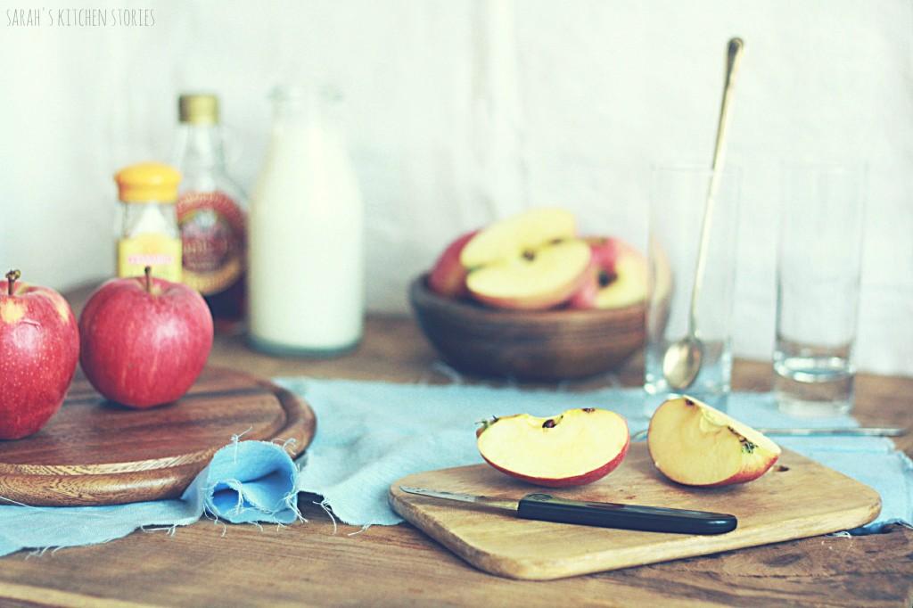 ingredienti smoothie vegan (orizzontale)