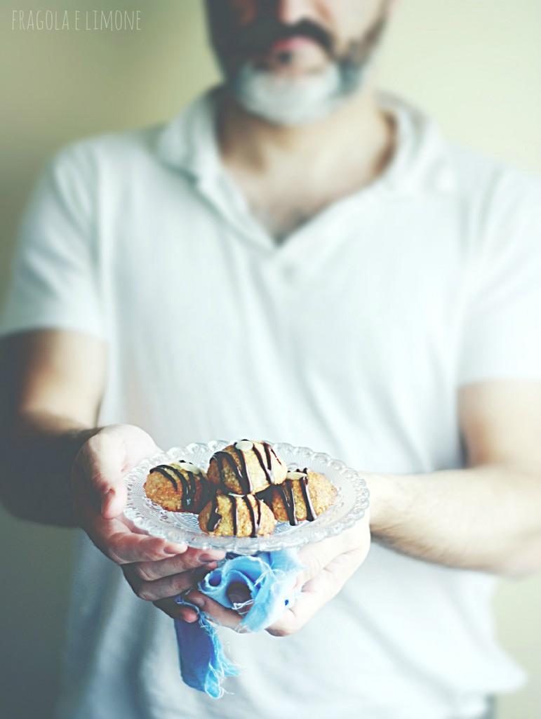 biscotti cocco e mandorle vegan con marito