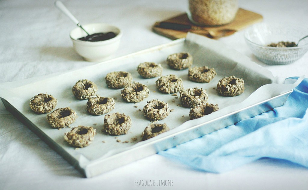 jam and sunflower cookies da riempire