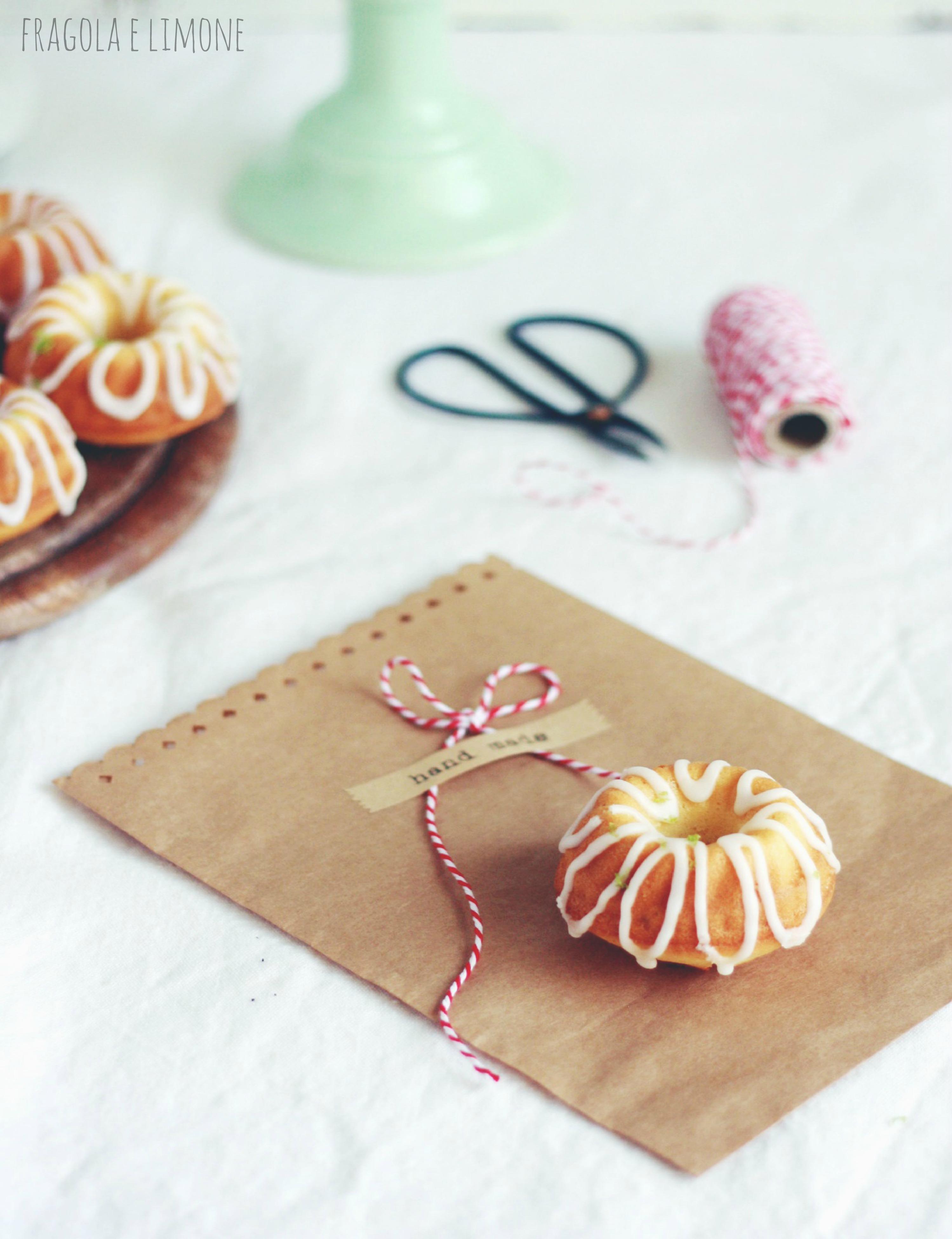 bundt cake al lime da confezionare