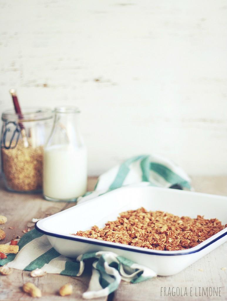granola in teglia