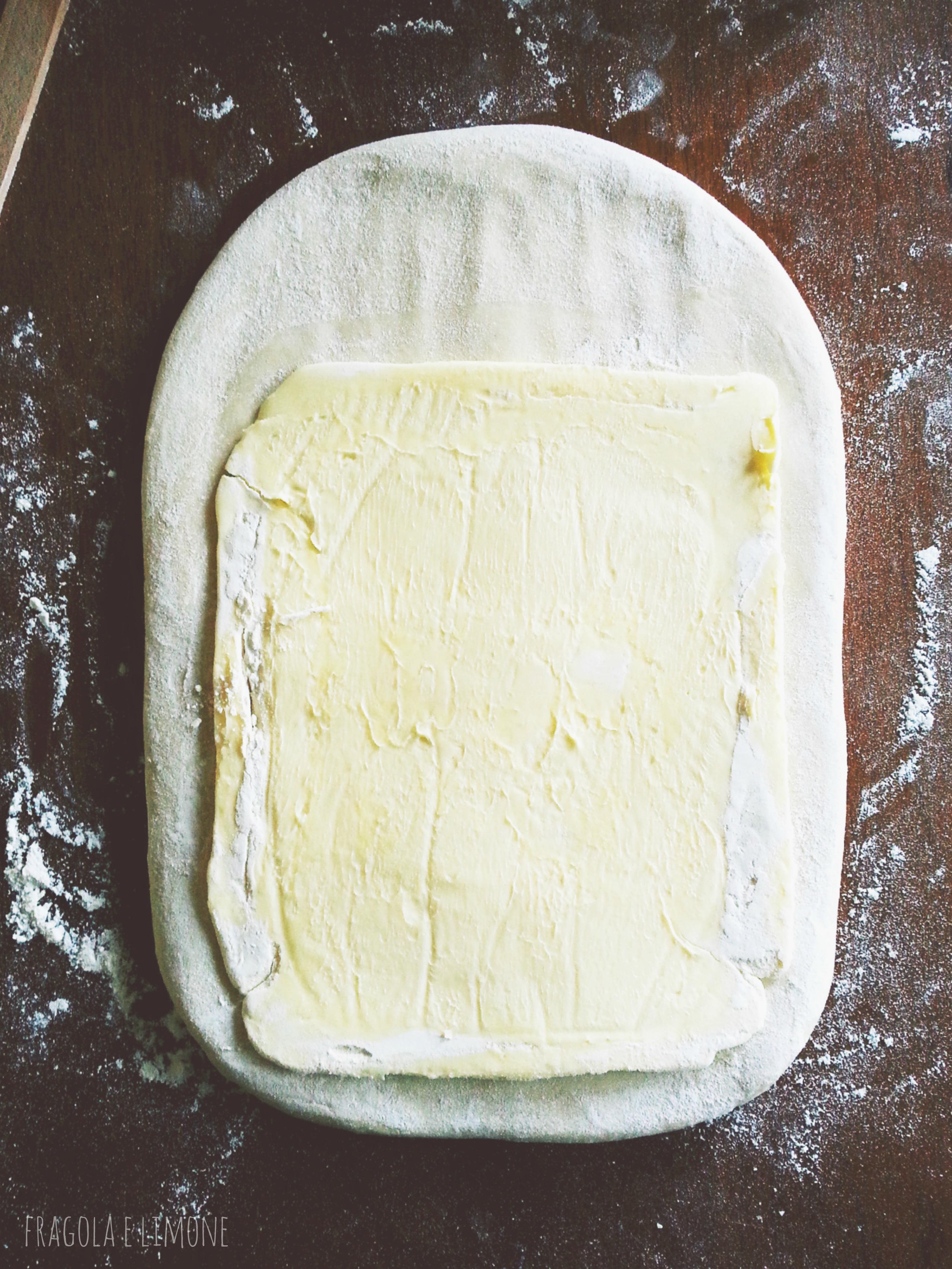 burro nell'impasto
