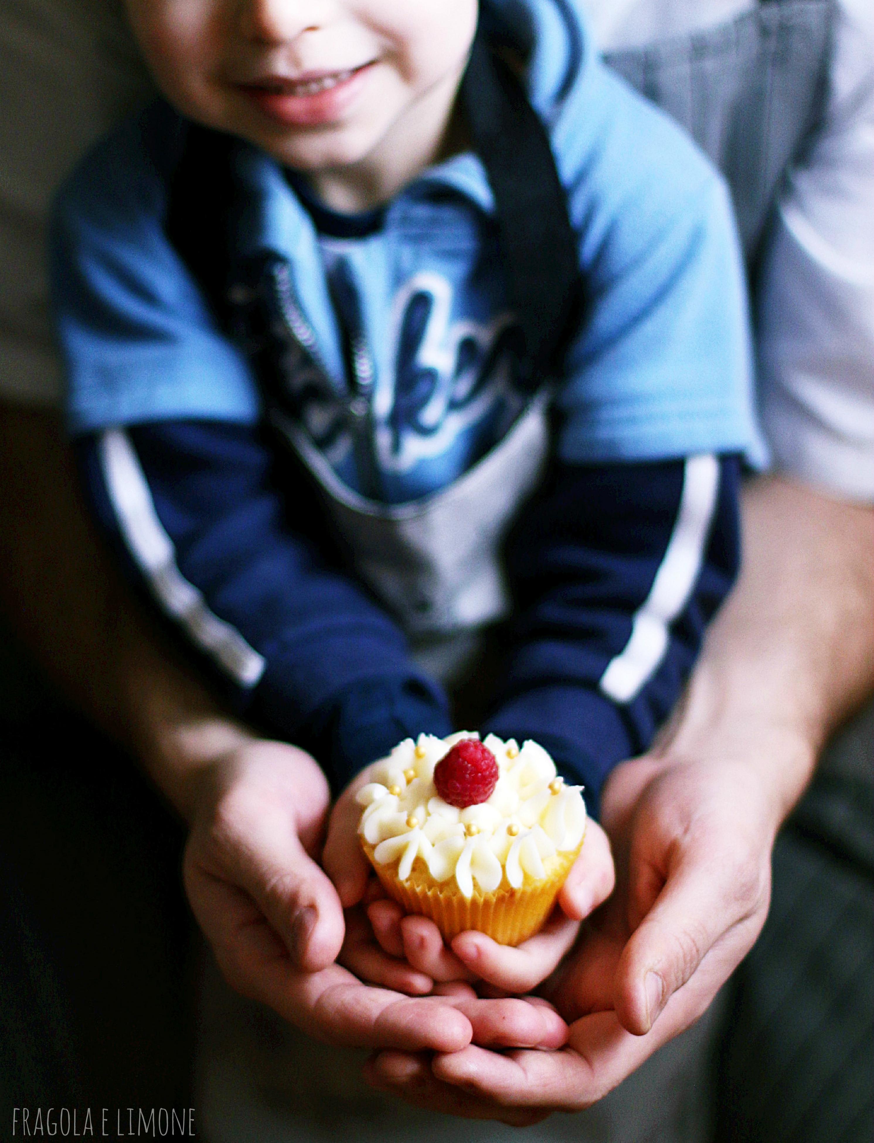 cupcake Ale e papà