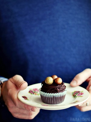 bird's nest chocolate cupcakes (7)