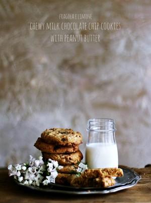 cookies con cioccolato al latte