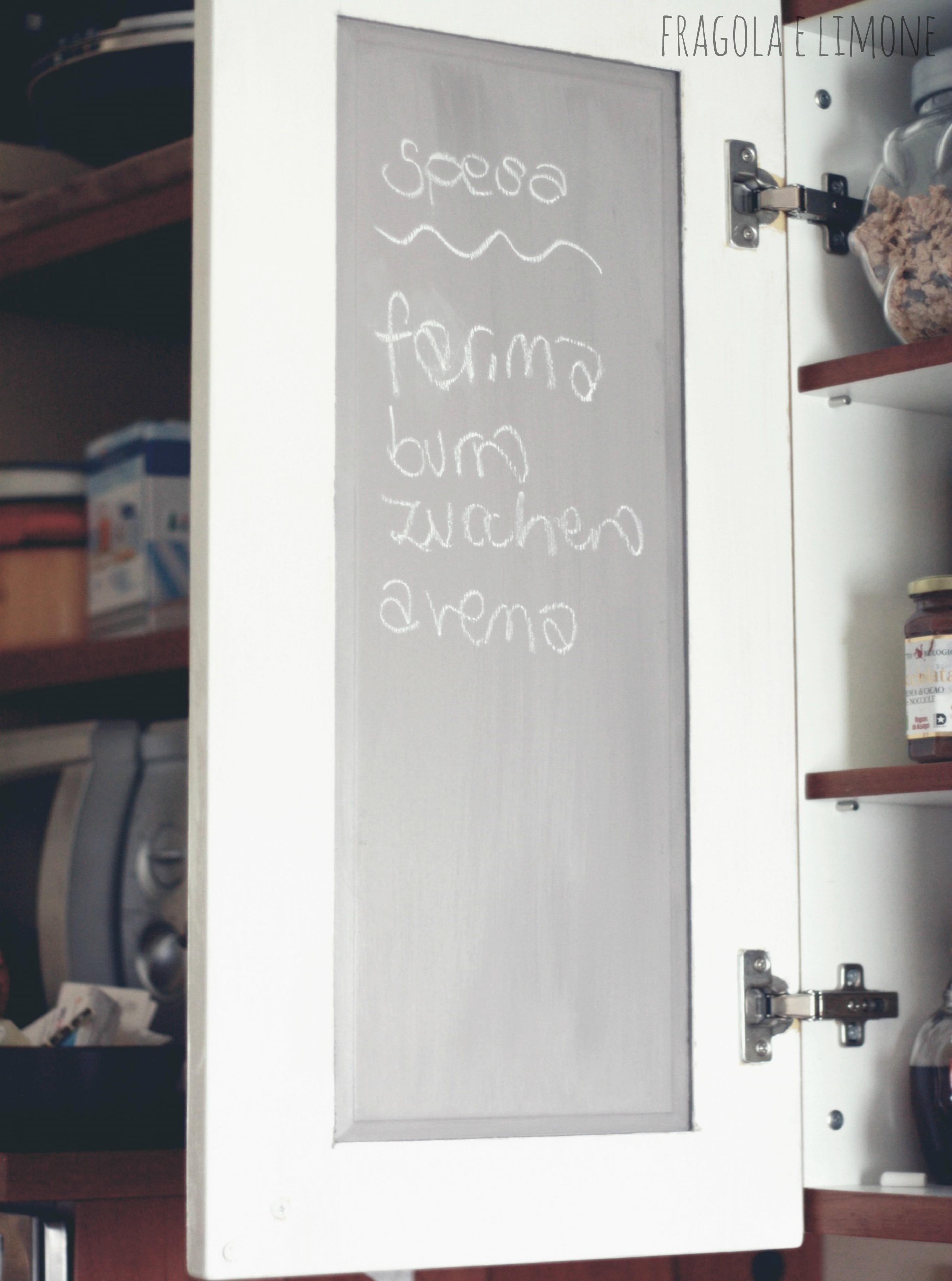 Chalk Paint Per Porte nuova cucina con meno di 50 euro